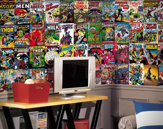 42 Comic Book Wallpaper For Bedrooms On Wallpapersafari