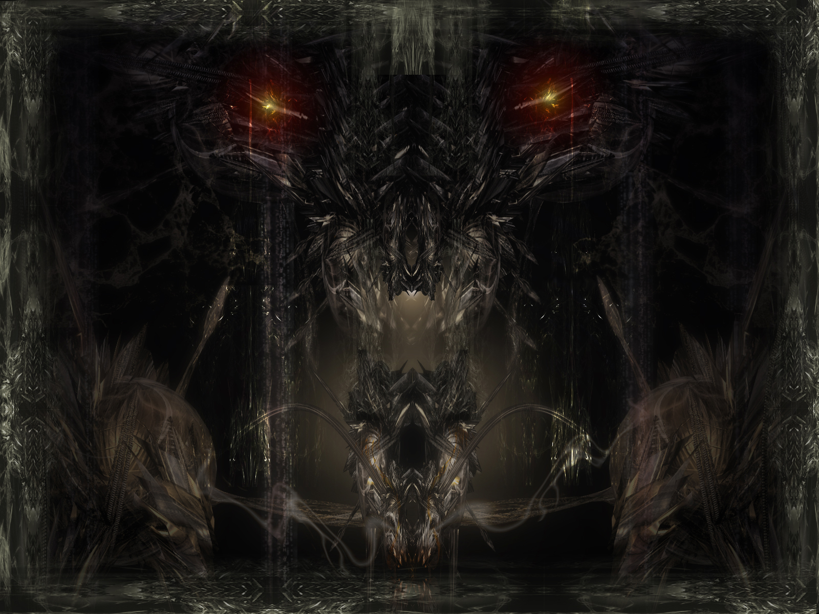 abstract DarkArt Gothic Wallpapers mixed HQ wallpapers 13jpg dogs of 1600x1200