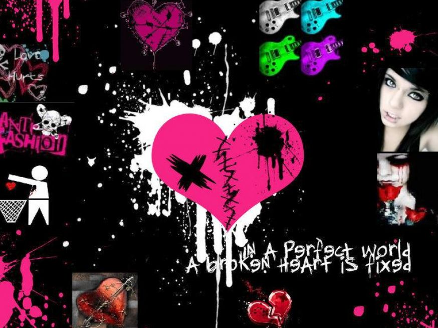 Cute emo backgrounds for desktop pictures 2 874x654