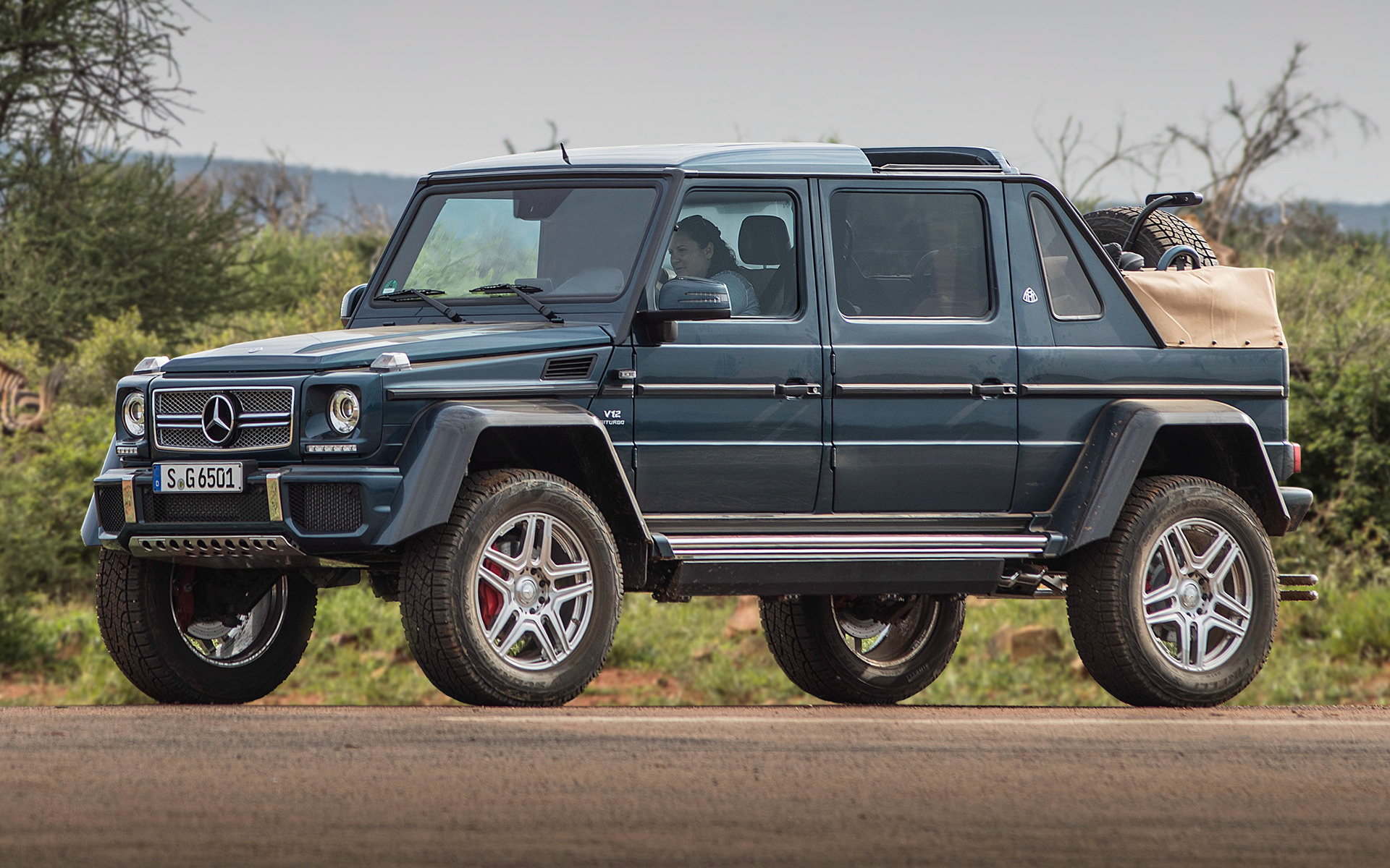 2017 Mercedes Maybach G Class Landaulet   Wallpapers and HD Images 1920x1200