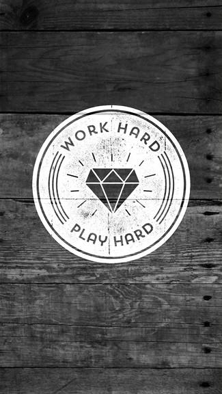 Work Hard Play Hard iPhone 5C 5S wallpaper 325x576