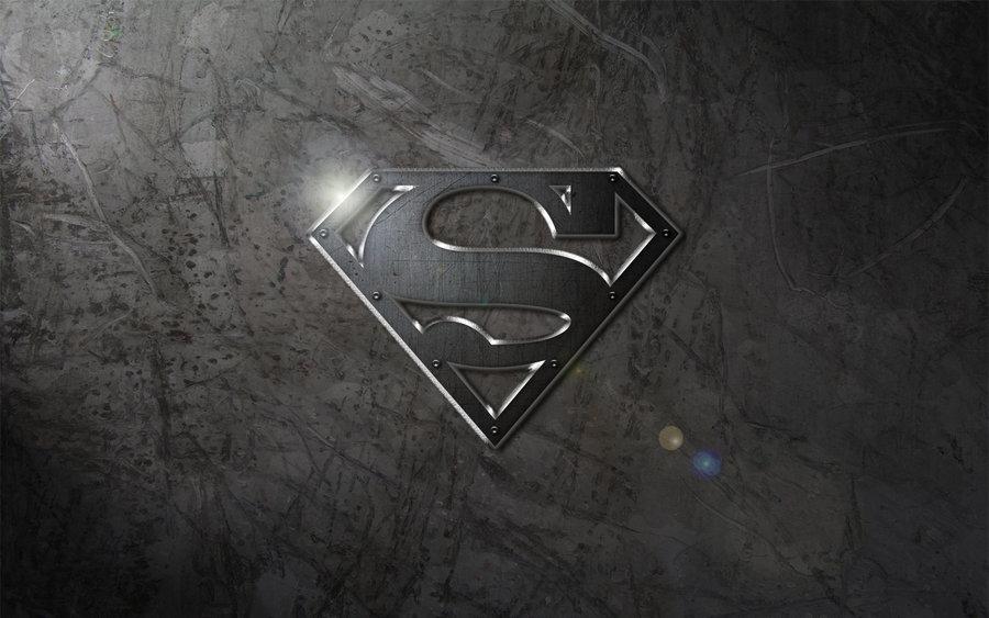 Steel Logo Wallpaper by SUPERMAN3D 900x563