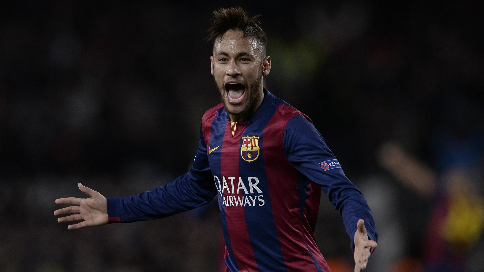 Neymar Barcelona PSG UEFA Champions League 12102014   Goalcom 1920x1080