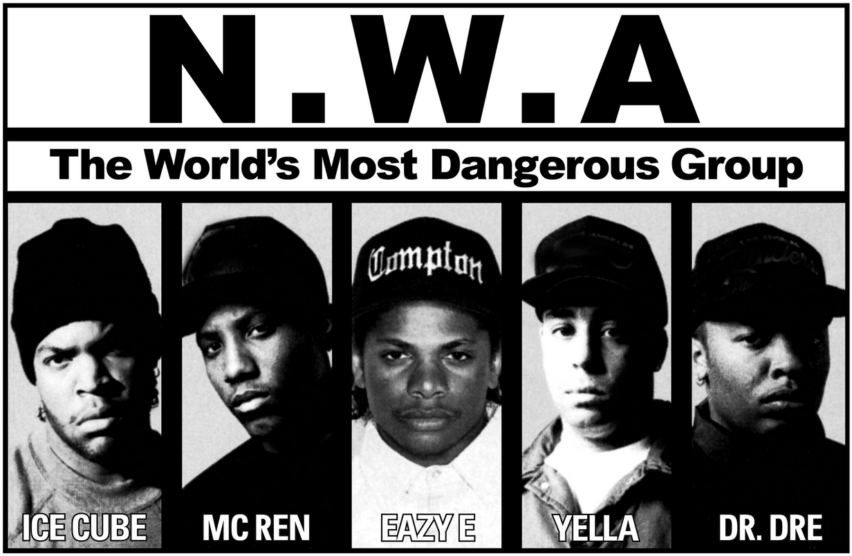 For the third straight year seminal West Coast rappers NWA have 1232x805