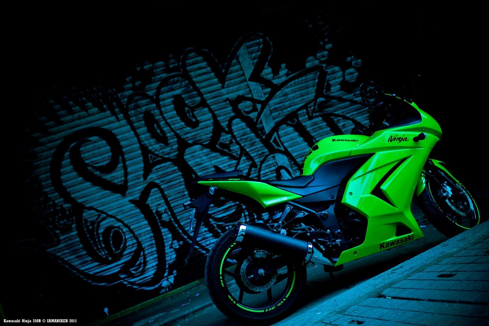 ninja motorcycle wallpaper - wallpapersafari