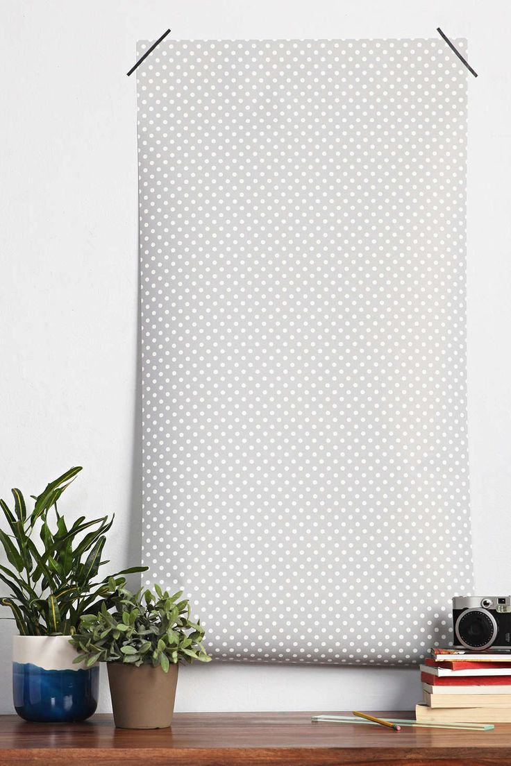 Chasing Paper Dot Removable Wallpaper   Urban Outfitters 736x1104