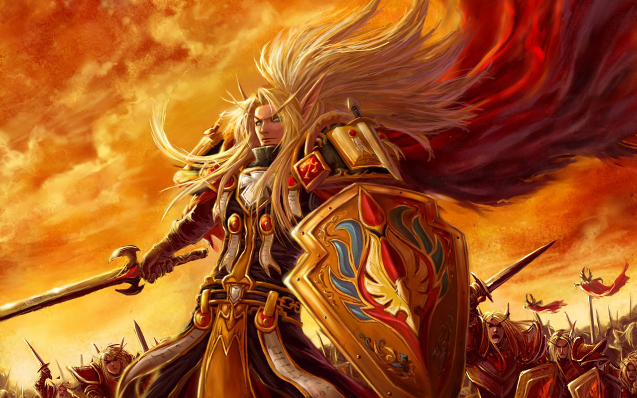 HQ World Of Warcraft Blood Elf Wallpaper   HQ Wallpapers 1280x800