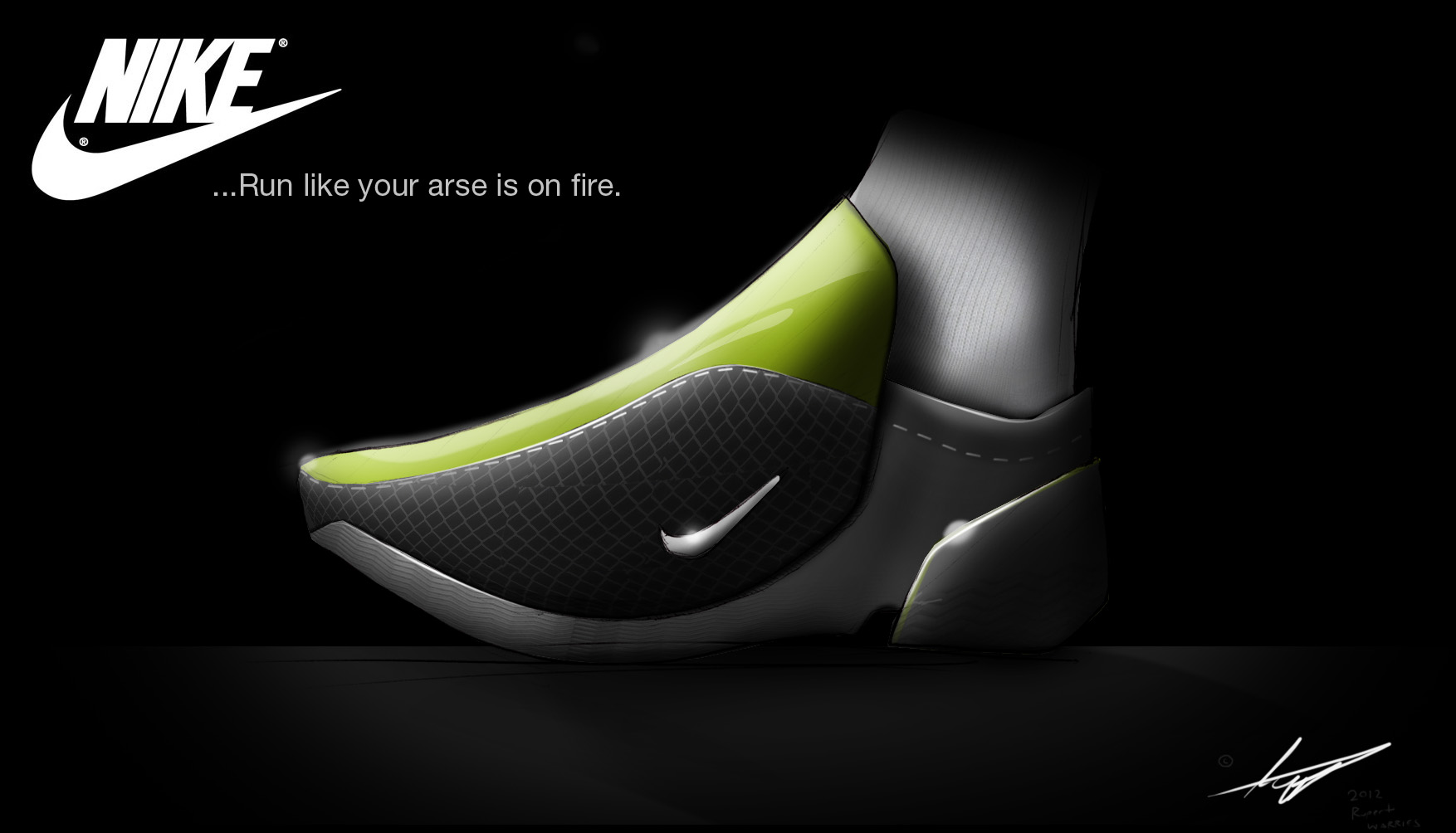 Nike Carbon Fiber Running Shoes