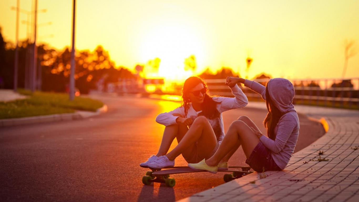 LONGBOARD DAY WALLPAPER   100315   HD Wallpapers   [WallpapersInHQ 1366x768