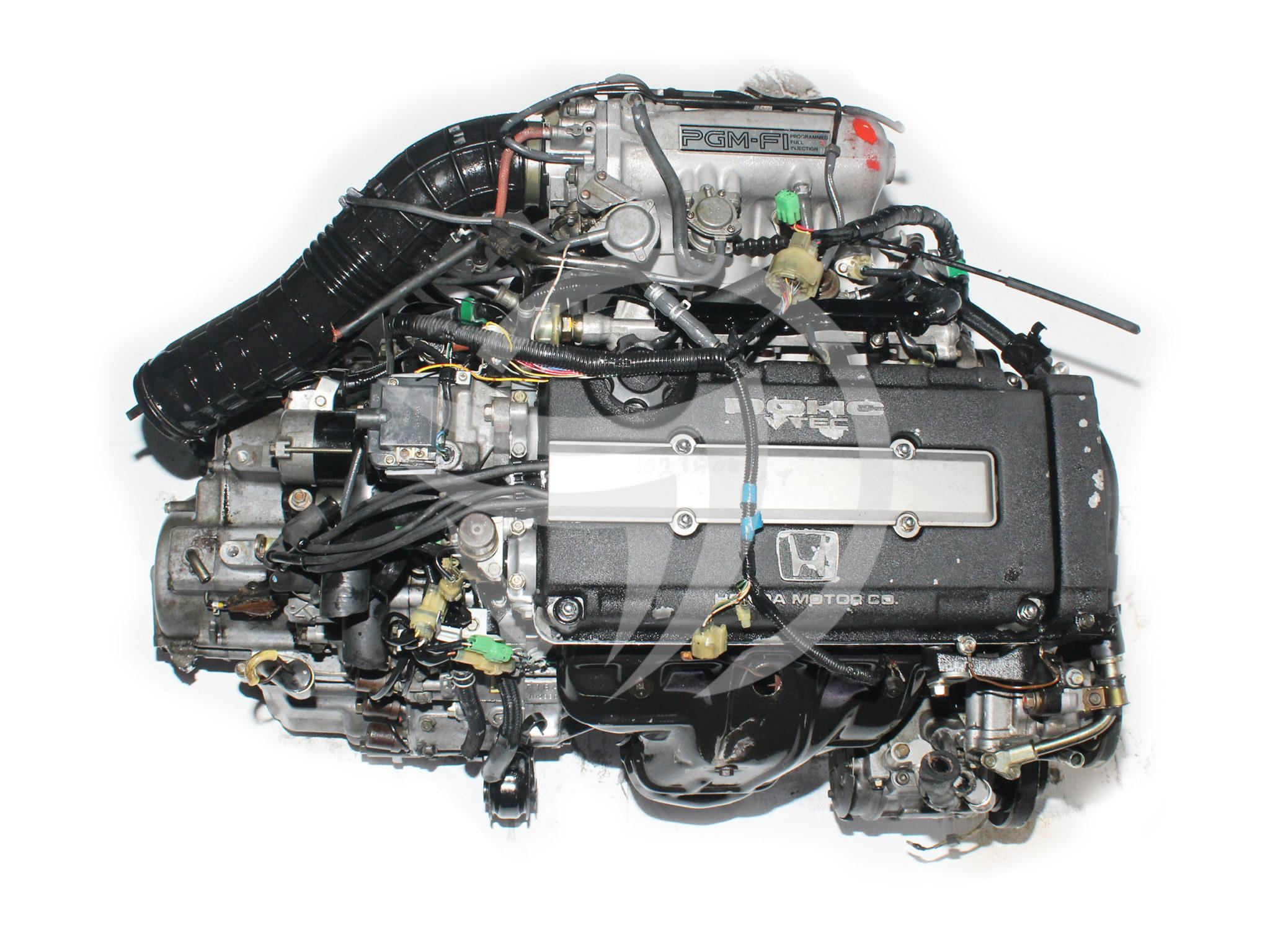 88 91 Honda Civic 16L Vtec Engine Automatic Transmission JDM B16A 2048x1536