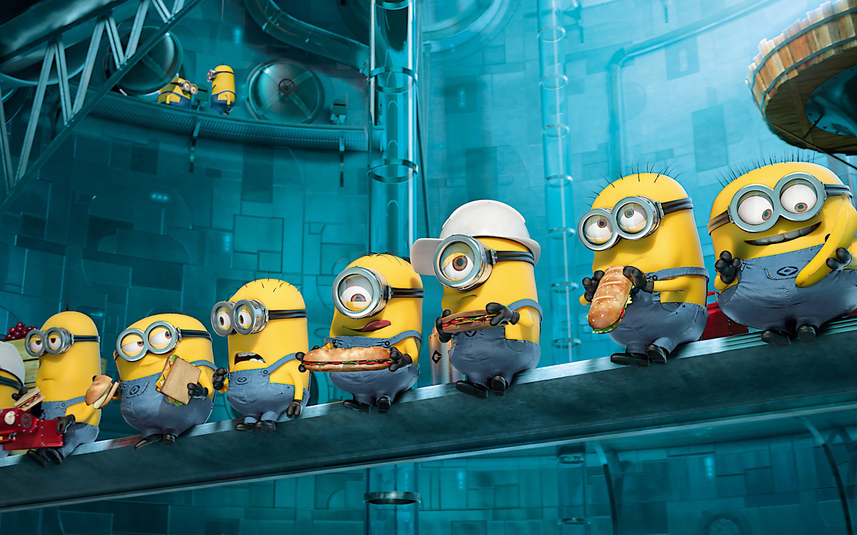Minions Movie Cartoon High Definition Wallpaper HD Background 2880x1800