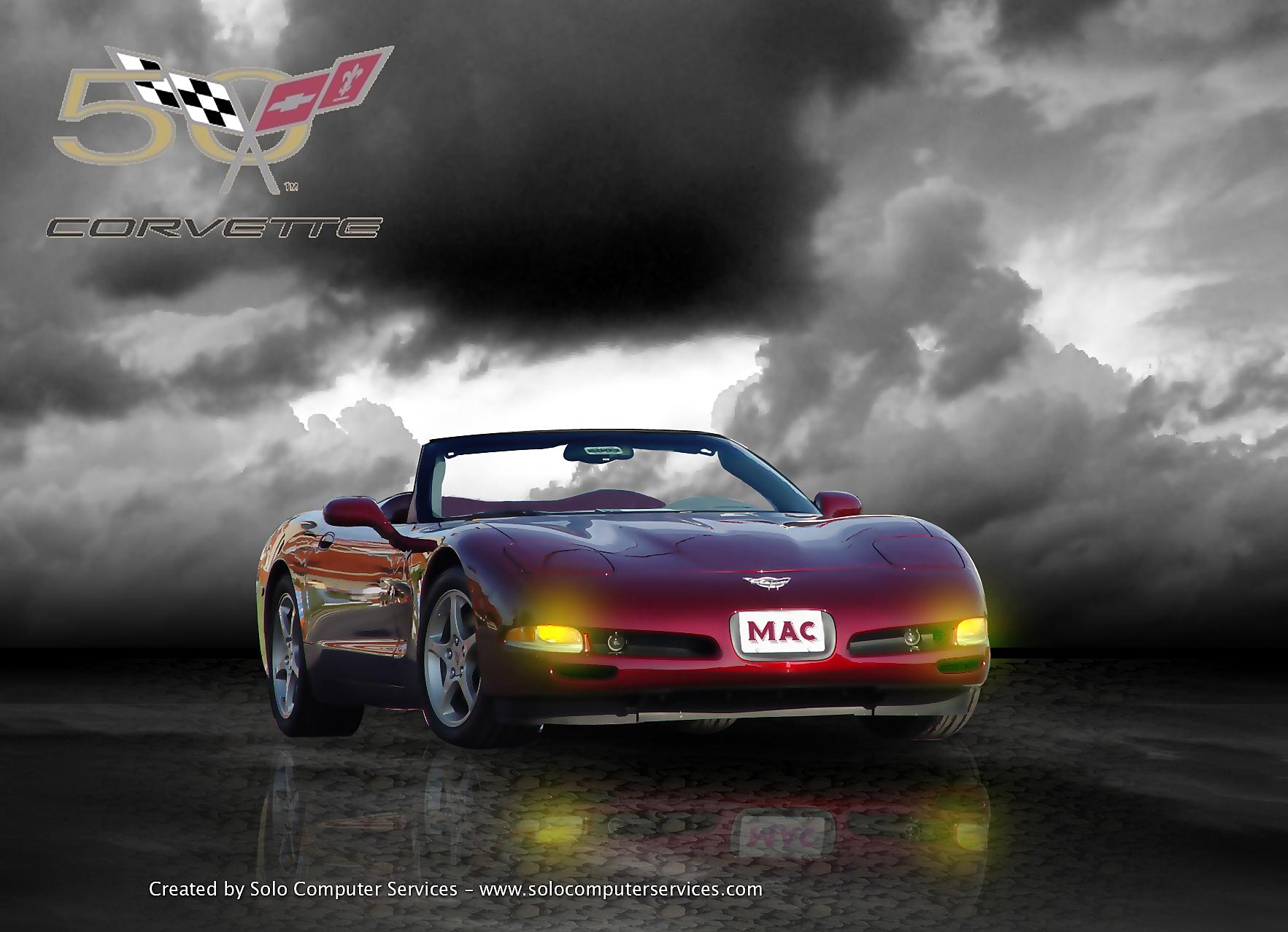 Corvette desktop wallpaper wallpapersafari - Corvette wallpaper ...