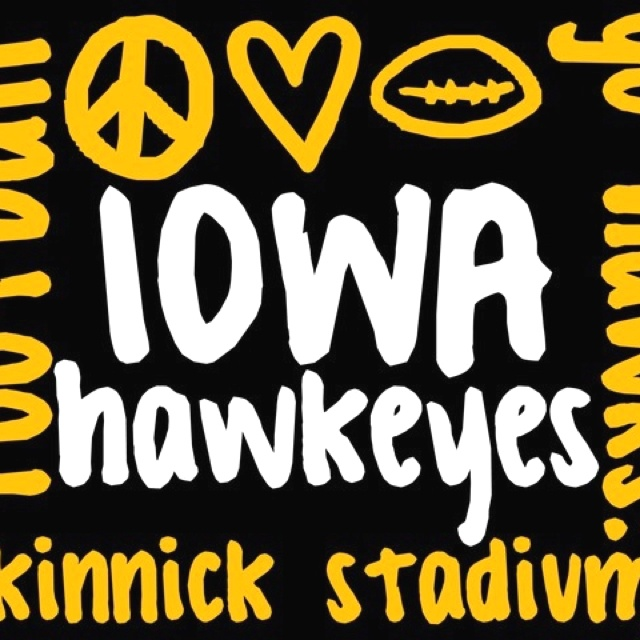 Hawkeye Football Wallpaper Iowa hawkeye iphone wallpaper 640x640