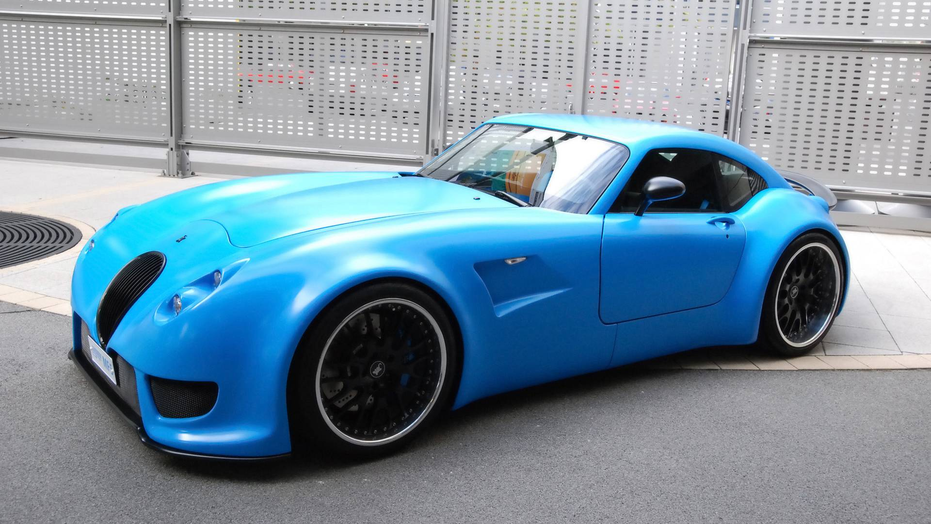 blue style   Cars Wallpaper 1920x1080