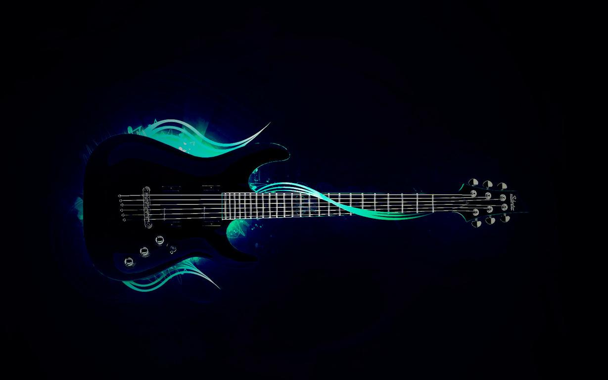 Rock Schecter Electric Guitar   Lomo HD Wallpaper   Hot Wallpapers HD 1229x768