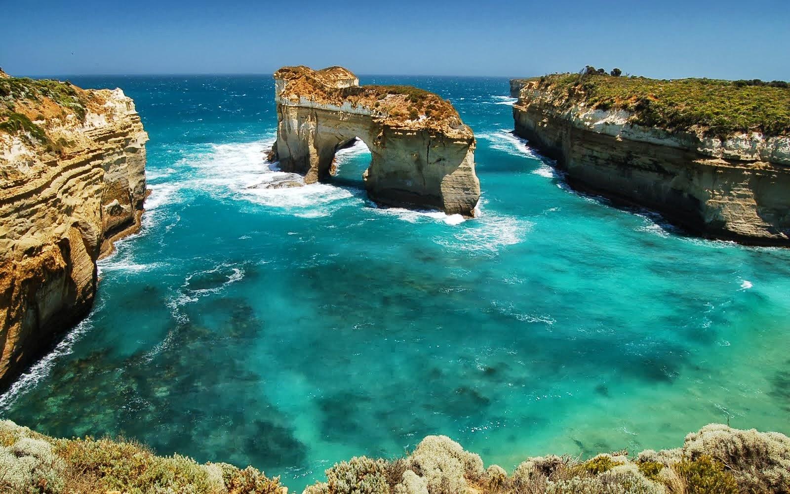 Sea Ocean Blue Beautiful Beach Scene Photos Heavy Wallpaper With 1600x1000