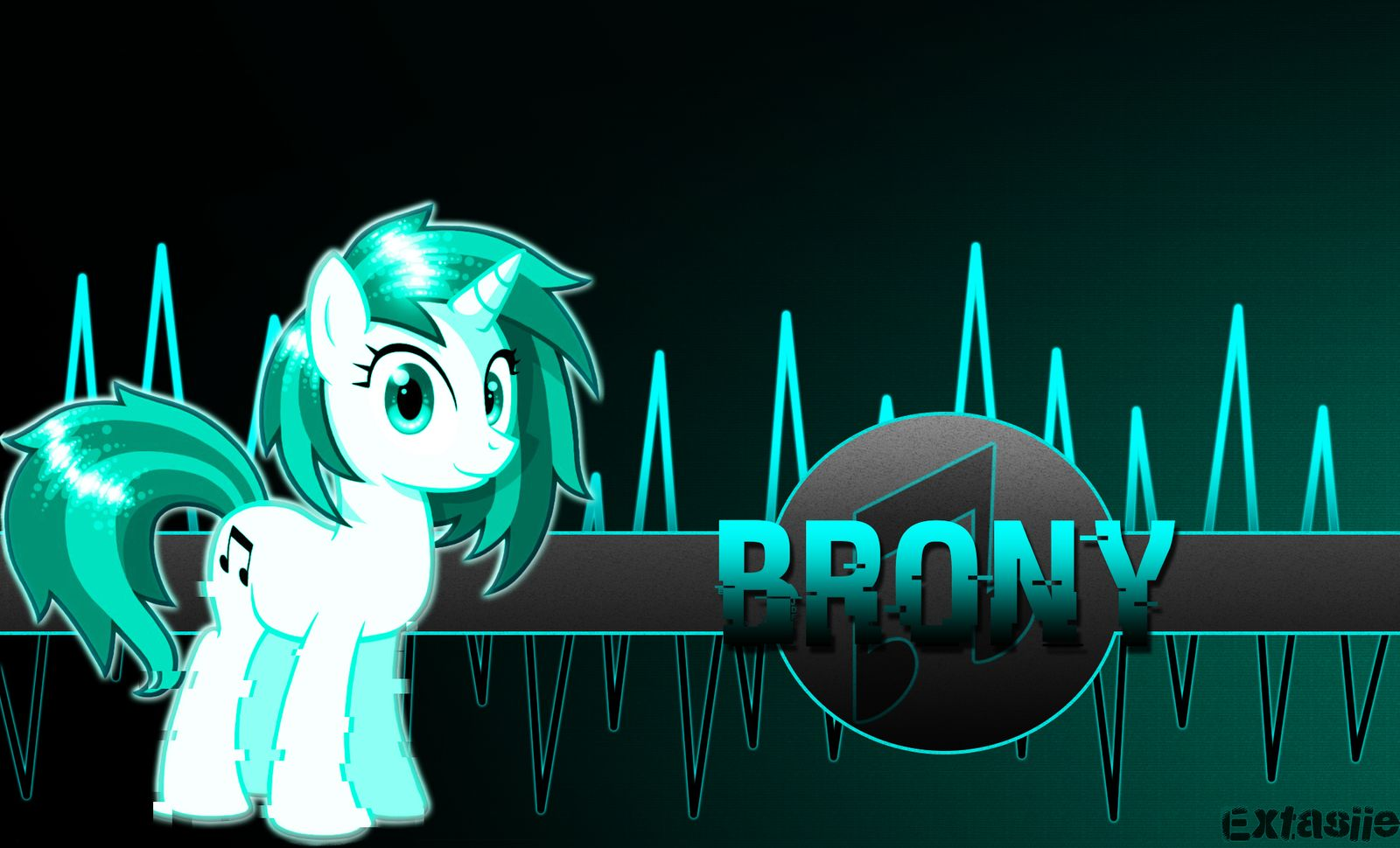 Bronies Wallpaper By Extasiie by Wubushii 1600x970