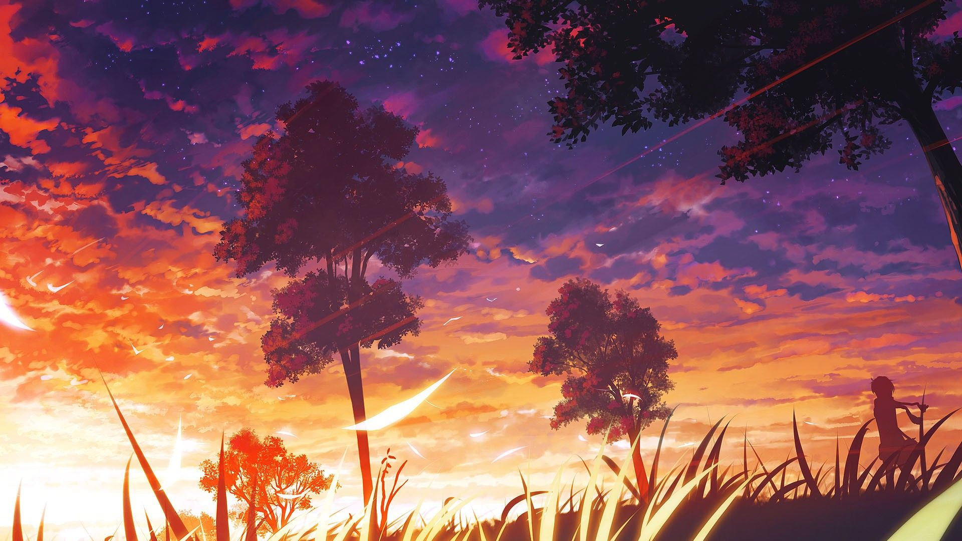 Beautiful Anime Landscapes Wallpapers   Top Beautiful Anime 1920x1080