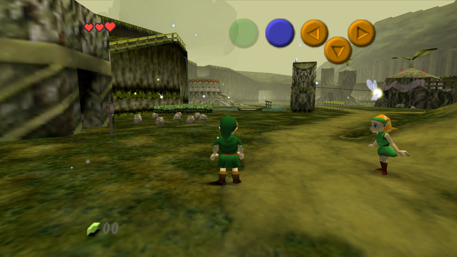1080p Zelda Wallpaper: Ocarina Of Time Wallpaper HD