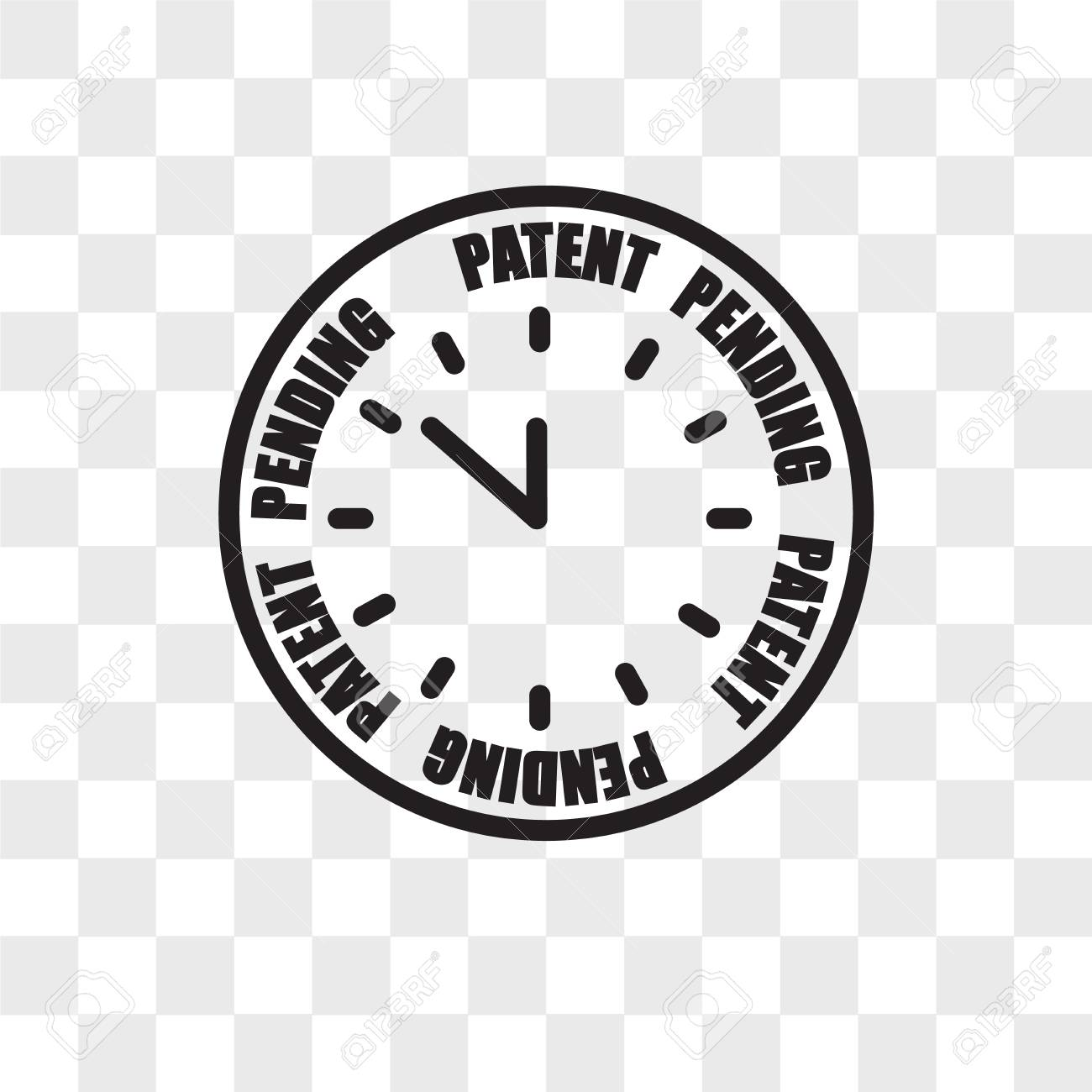 Patent Pending Vector Icon Isolated On Transparent Background 1300x1300