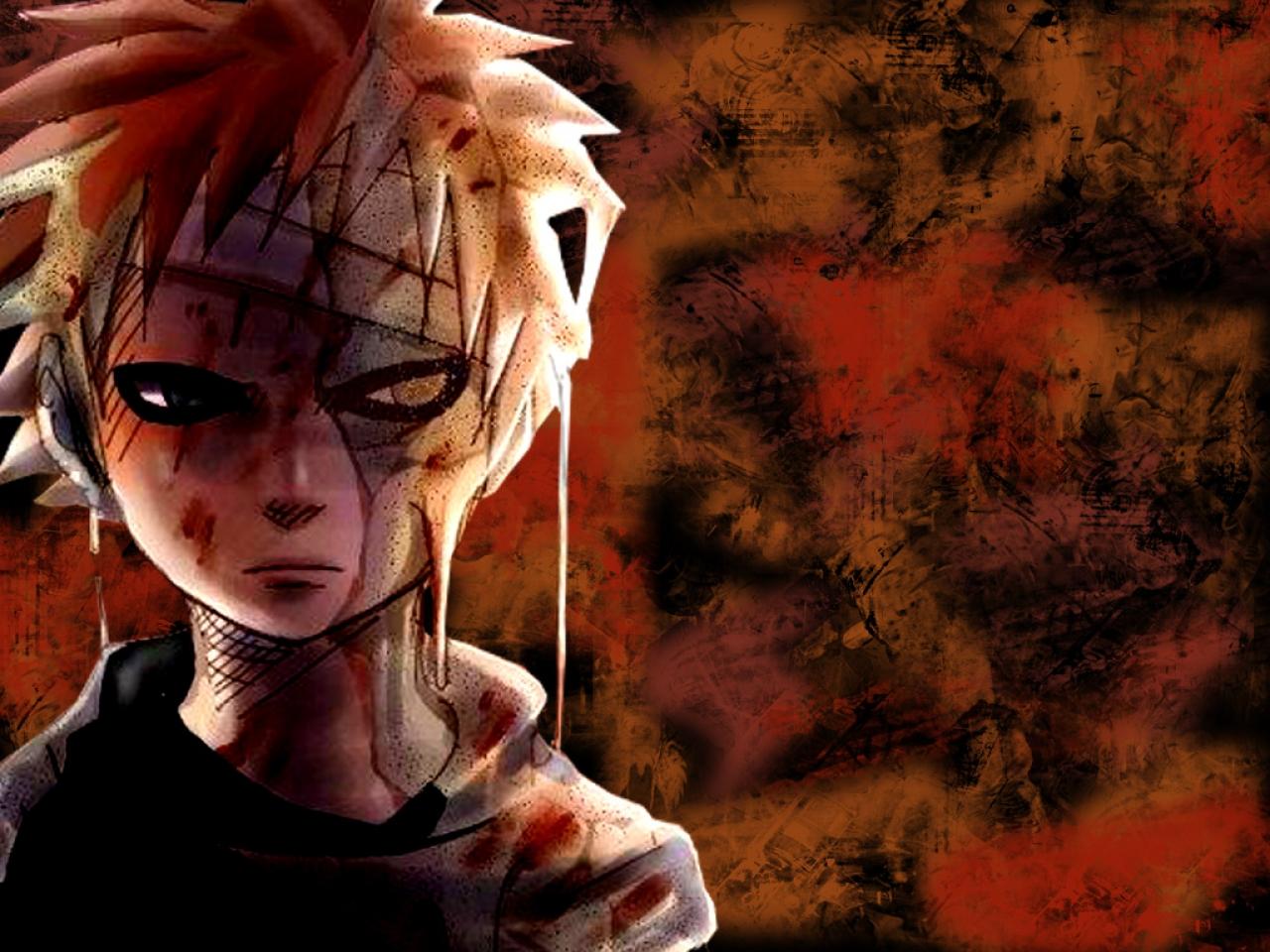 Naruto And Bleach Anime Wallpapers Managa Style Gaara 1280x960
