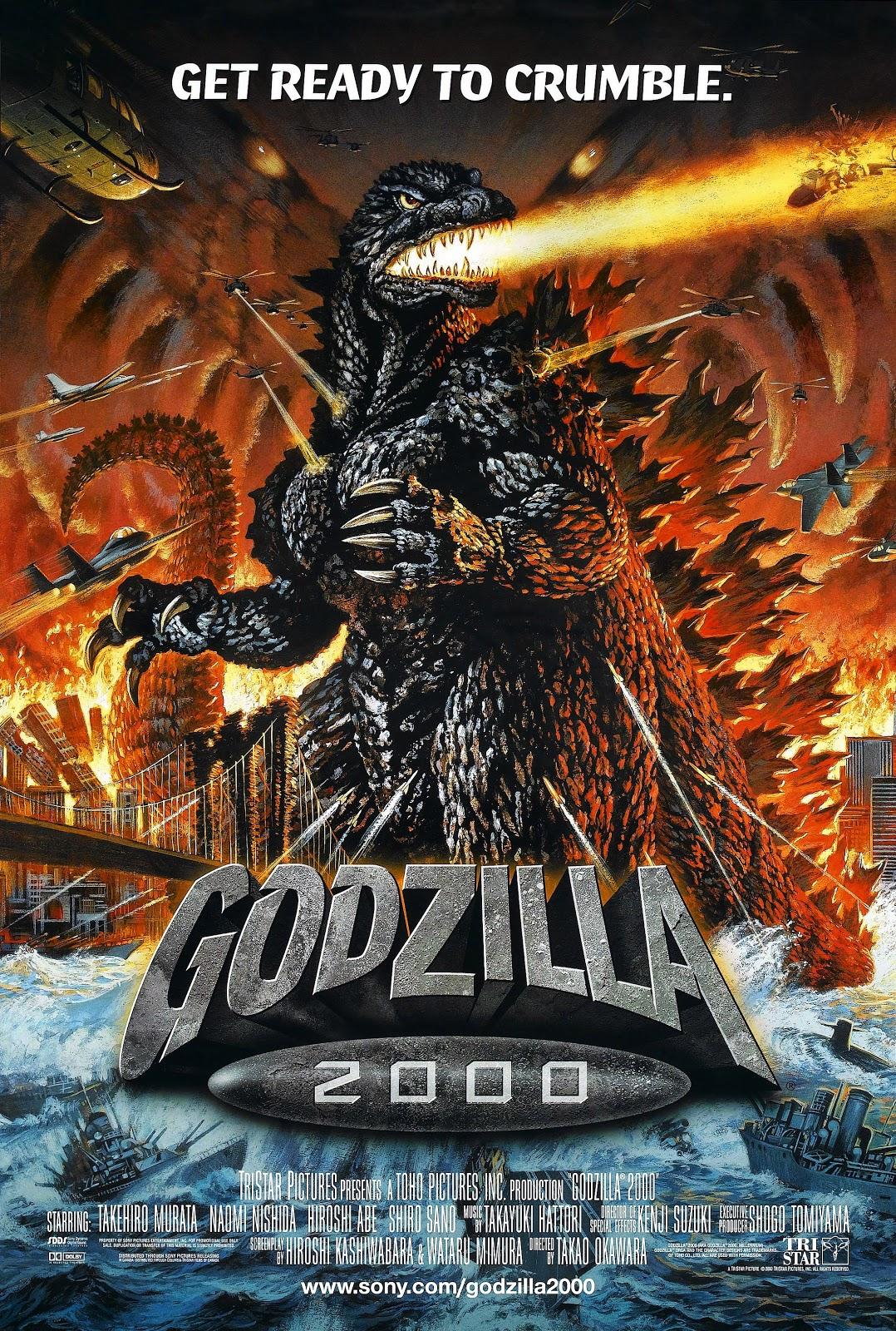 Blood Brothers Godzilla 2000 1999 1078x1600