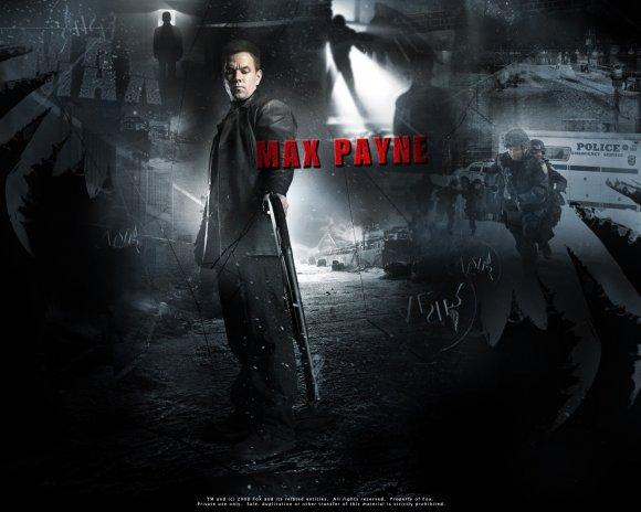 Max Payne wallpaper 580x464
