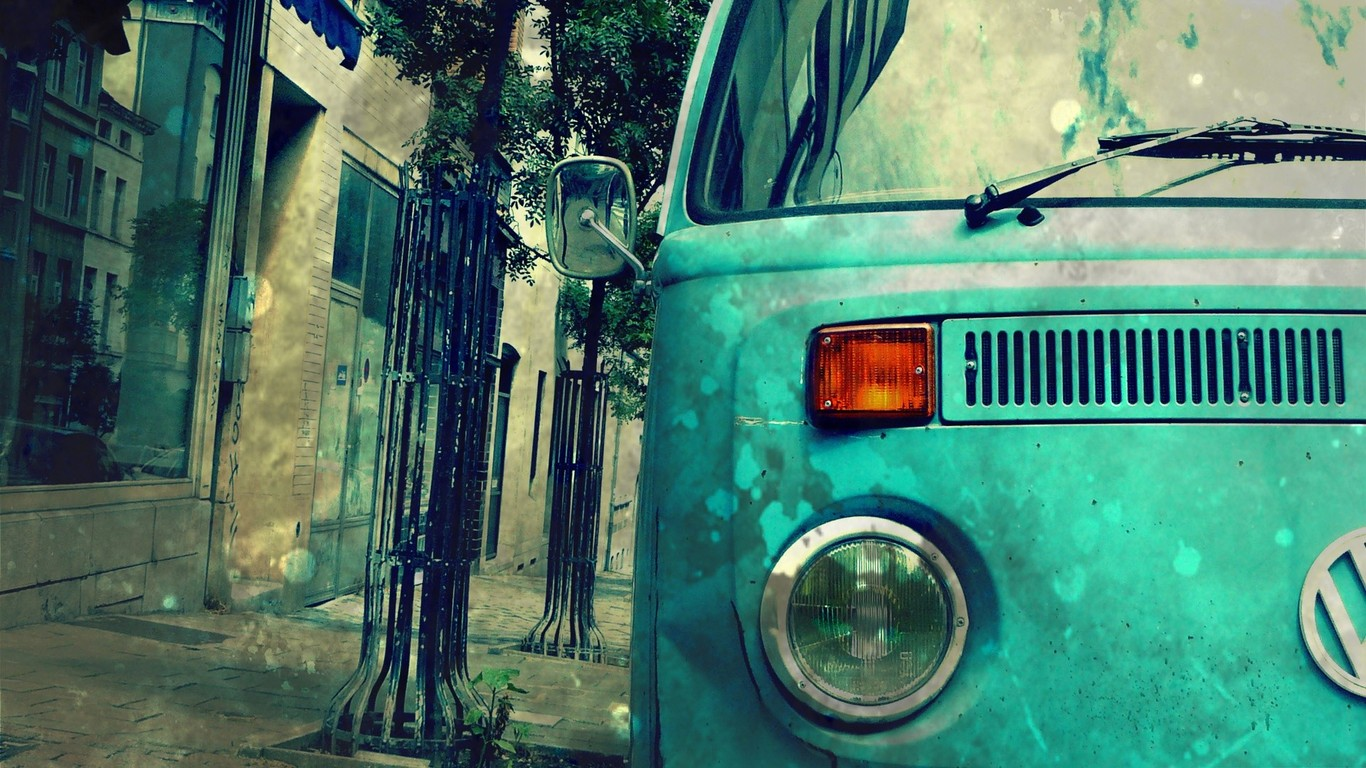 Volkswagen Bus wallpaper 4769 1366x768