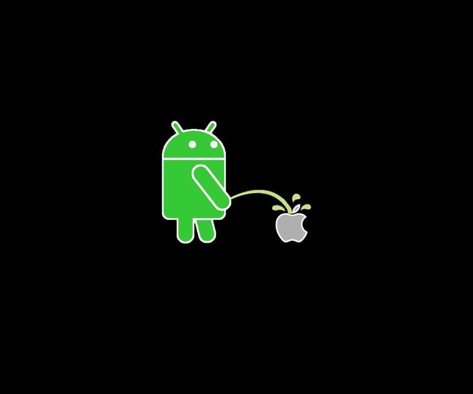 any good anti apple wallpapers   Android Forums at AndroidCentralcom 960x800