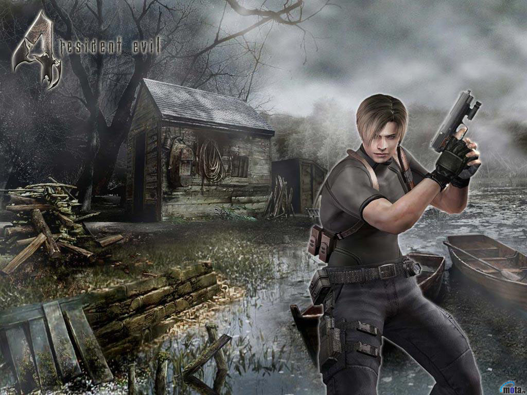 Free Download Wallpaper Gun Resident Evil Resident Evil 4 Leon