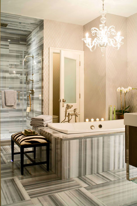30 Bathroom Wallpaper Ideas Photo 7 470x705