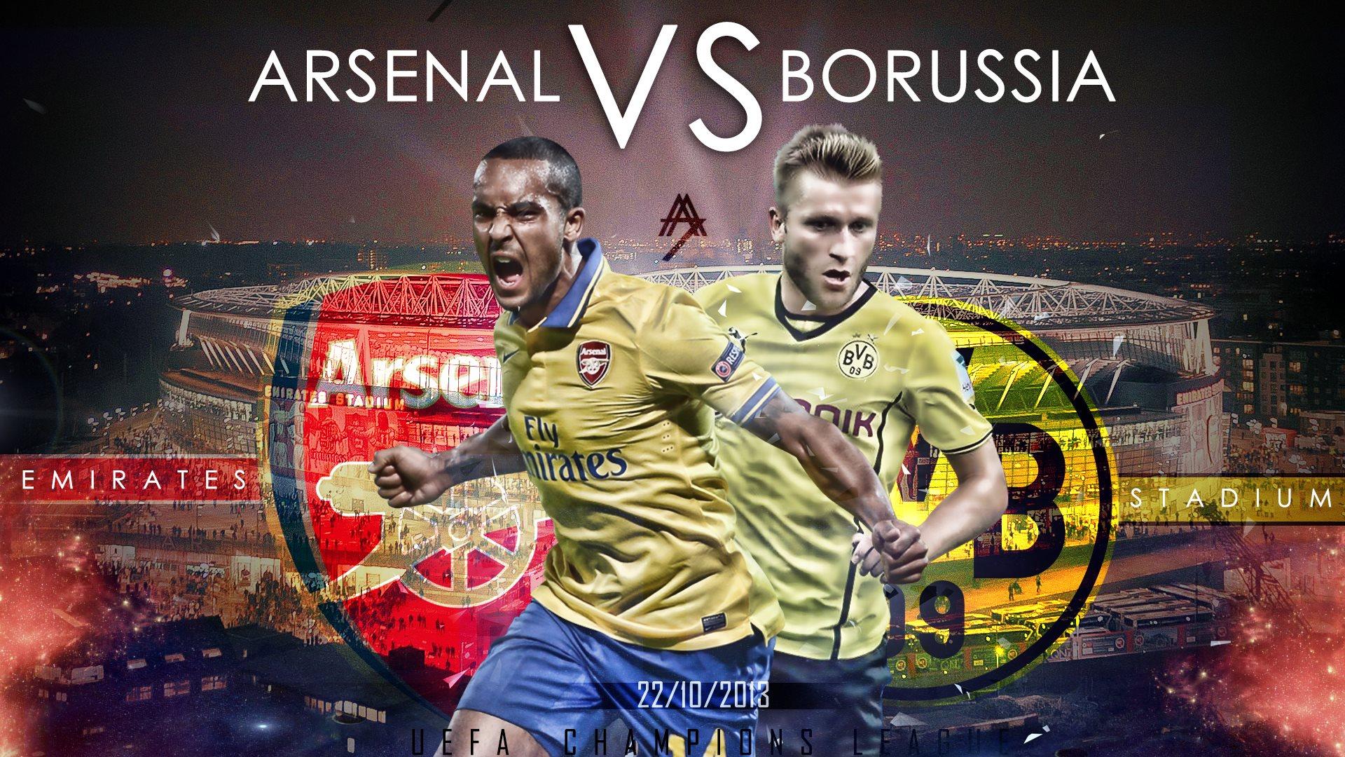Arsenal vs BvB Wallpapers HD Wallpapers 1920x1080