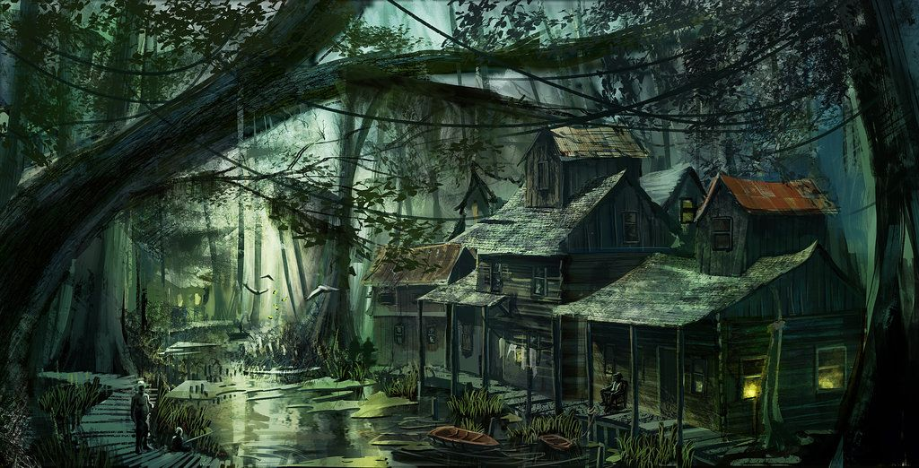 Bayou by Lucfonzydeviantartcom in 2019 Fantasy 1024x522