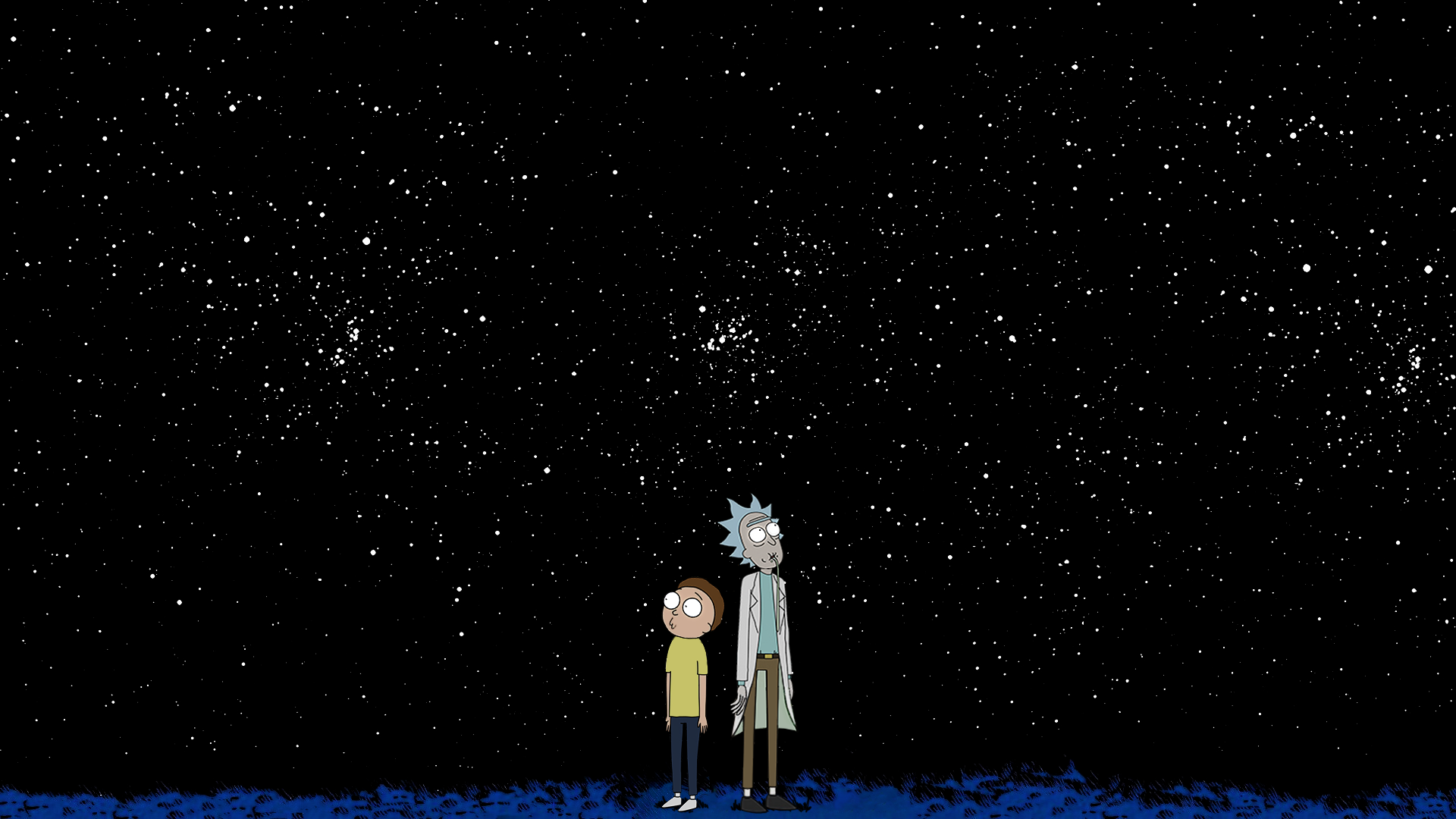 Rick and Morty in Space [1920 1080] wallpaper 1920x1080
