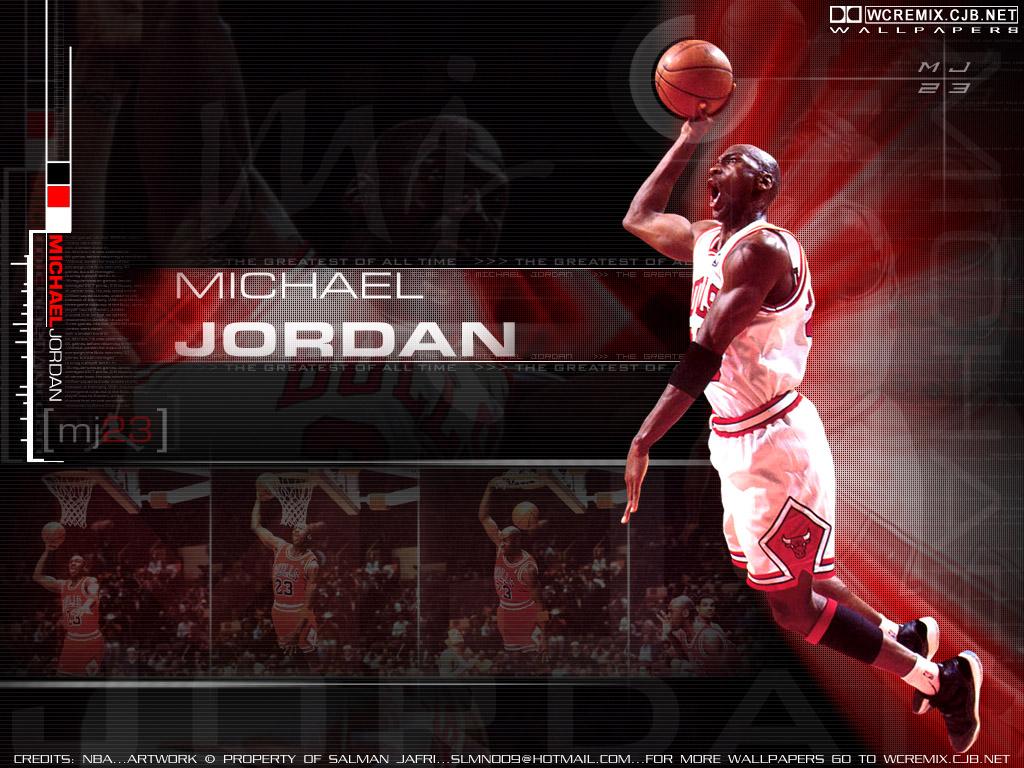 Michael Jordan 1024x768