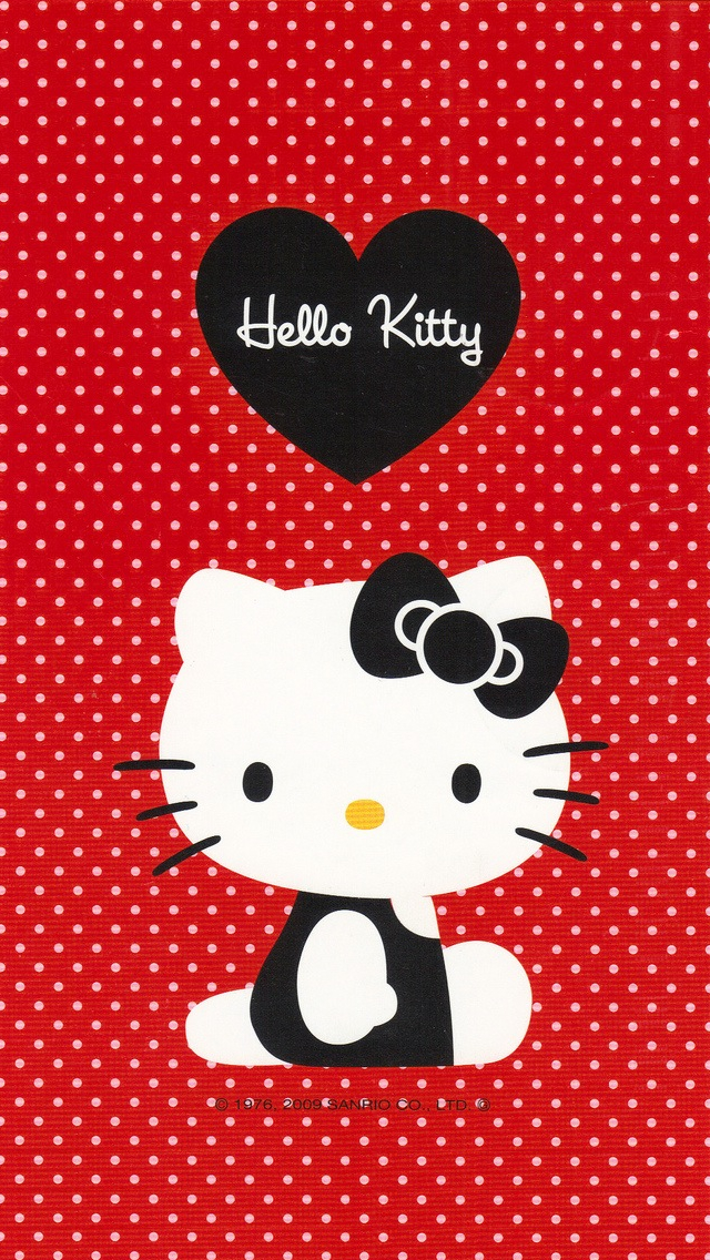 [76+] Hello Kitty Red Wallpaper on WallpaperSafari