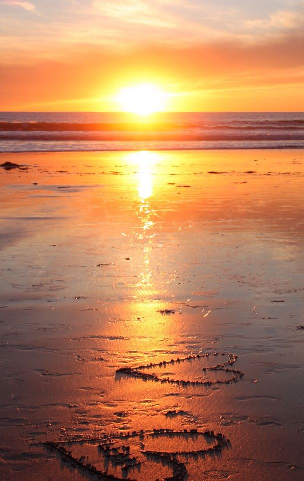 Beachfront Sunset View photography Ocean sunset Sunset 608x960