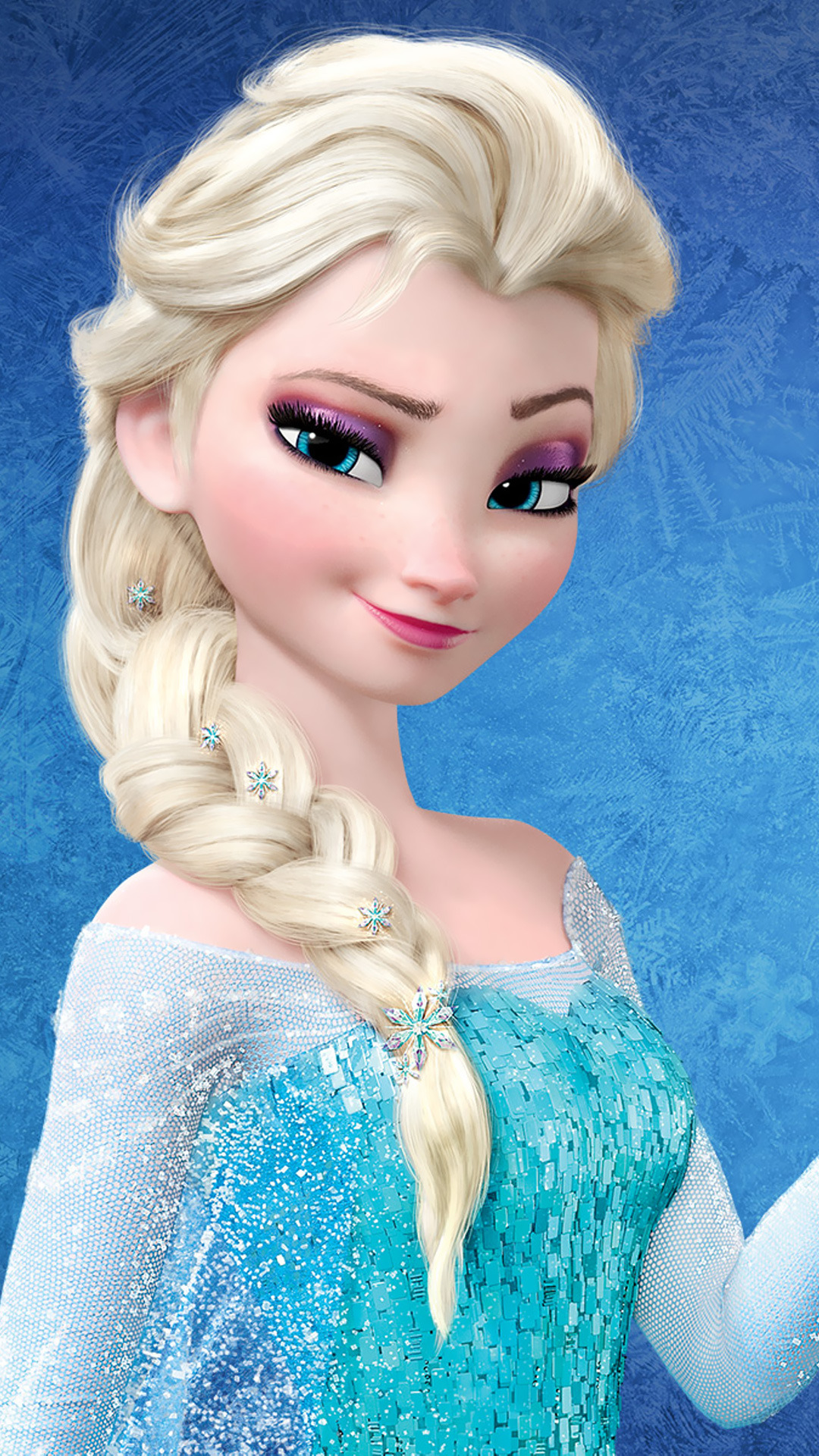 Frozen Elsa   Best htc one wallpapers and easy to download 1080x1920