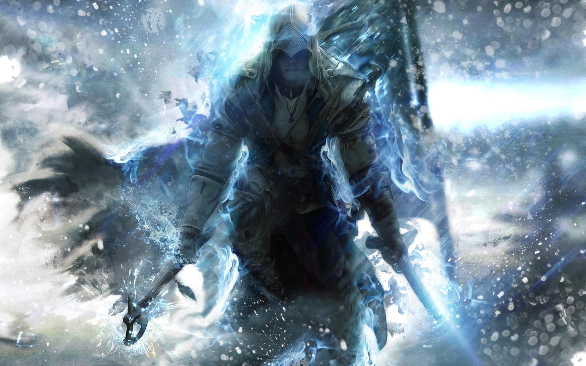 Assassins Creed 3   The Assassins Wallpaper 32458772 1920x1200