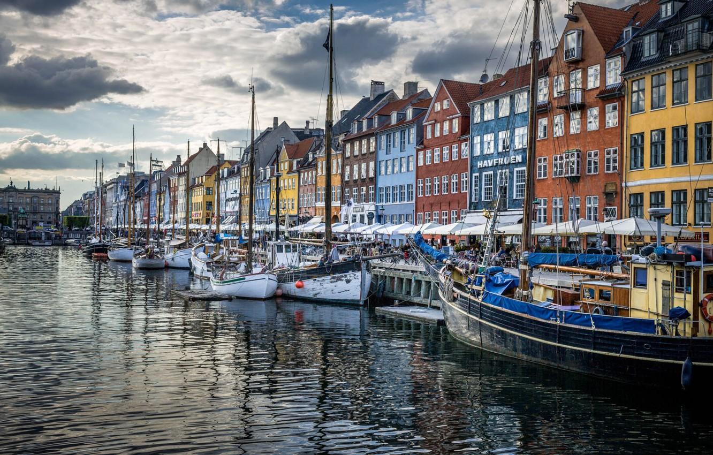 Wallpaper home Denmark promenade Copenhagen images for desktop 1332x850