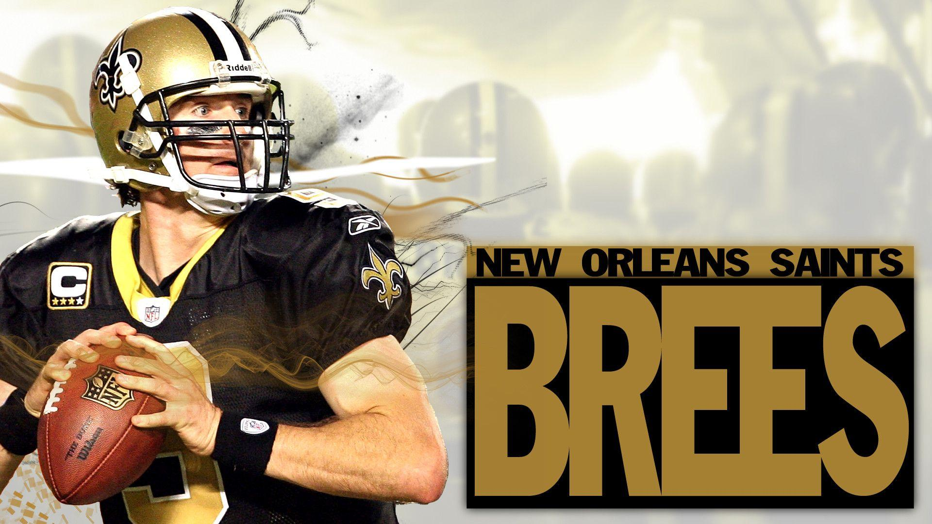 Drew Brees NFL HD Wallpapers New Tab Theme   Sports Fan Tab 1920x1080