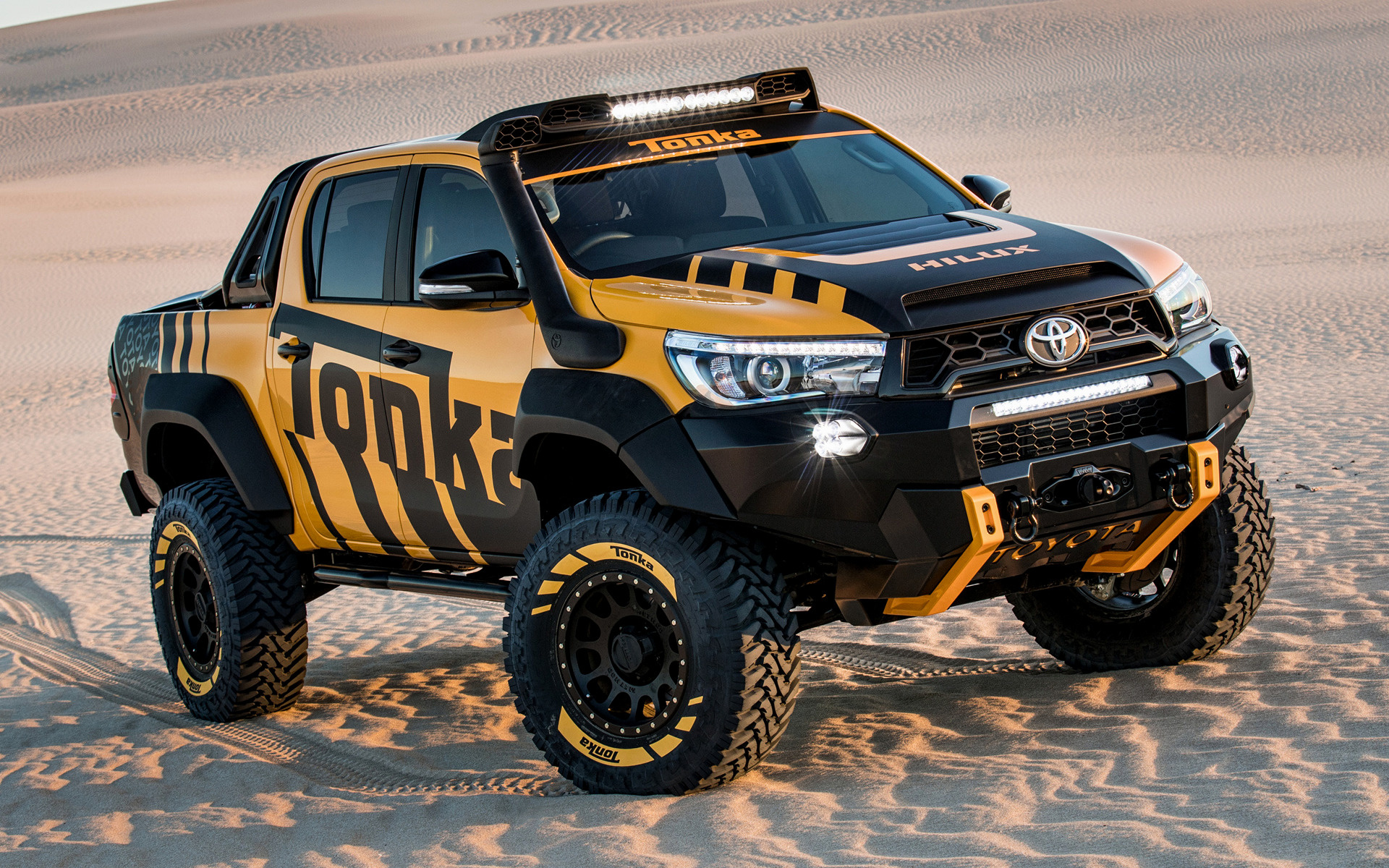 2017 Toyota Hilux Tonka Concept   Wallpapers and HD Images Car Pixel 1920x1200
