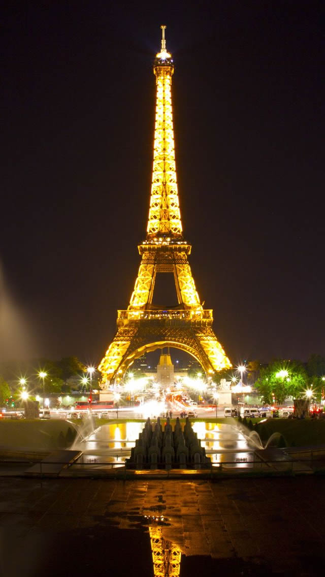 Eiffel Tower Hd Iphone Wallpaper