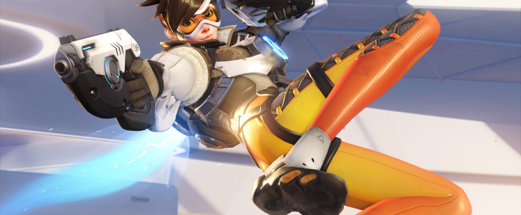Overwatchs Tracer has Replacement Pose Unveiled Hardcore Gamer 747x309