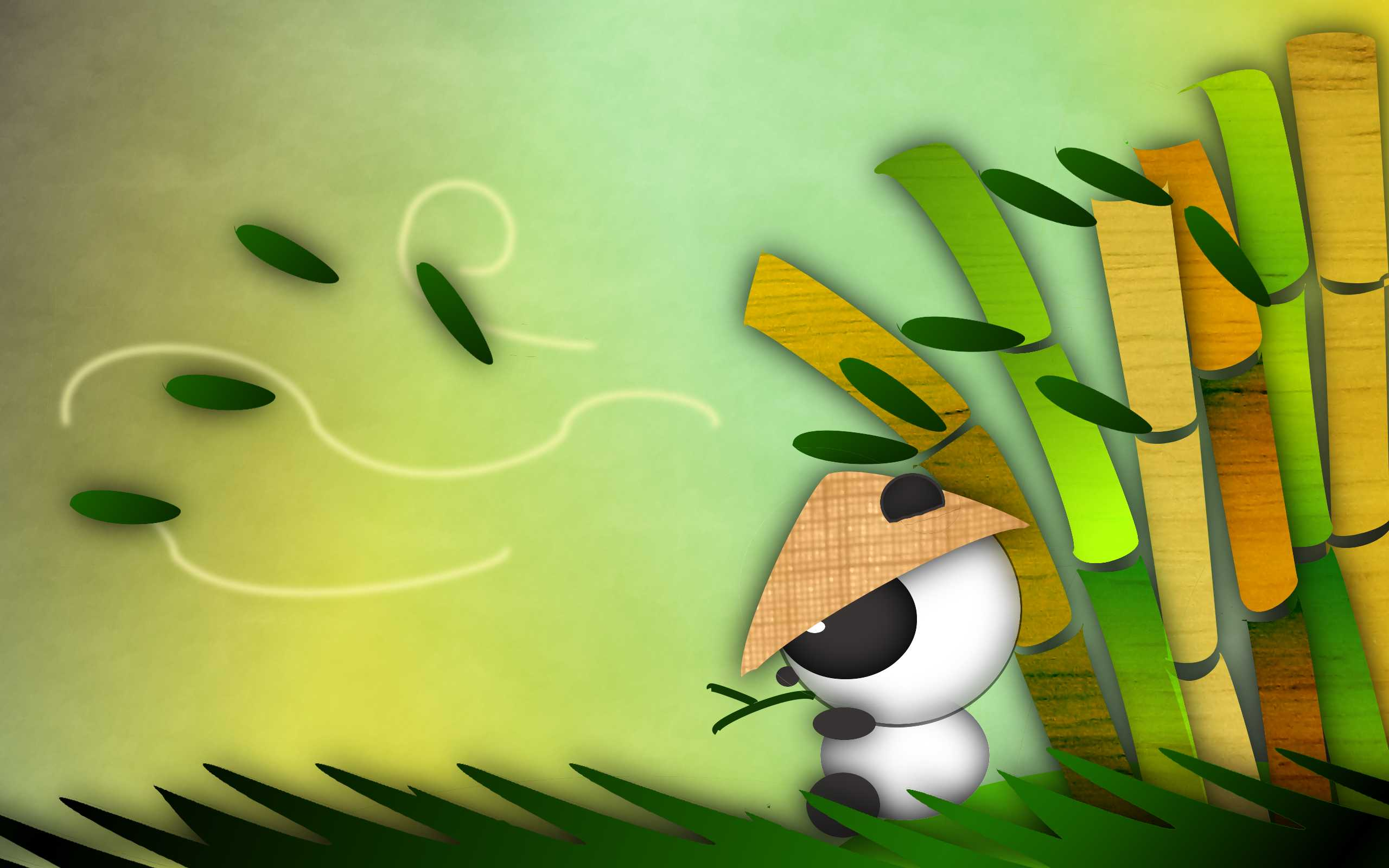 Cute Panda Cartoon HD Wallpaper 8022 Frenziacom 2560x1600