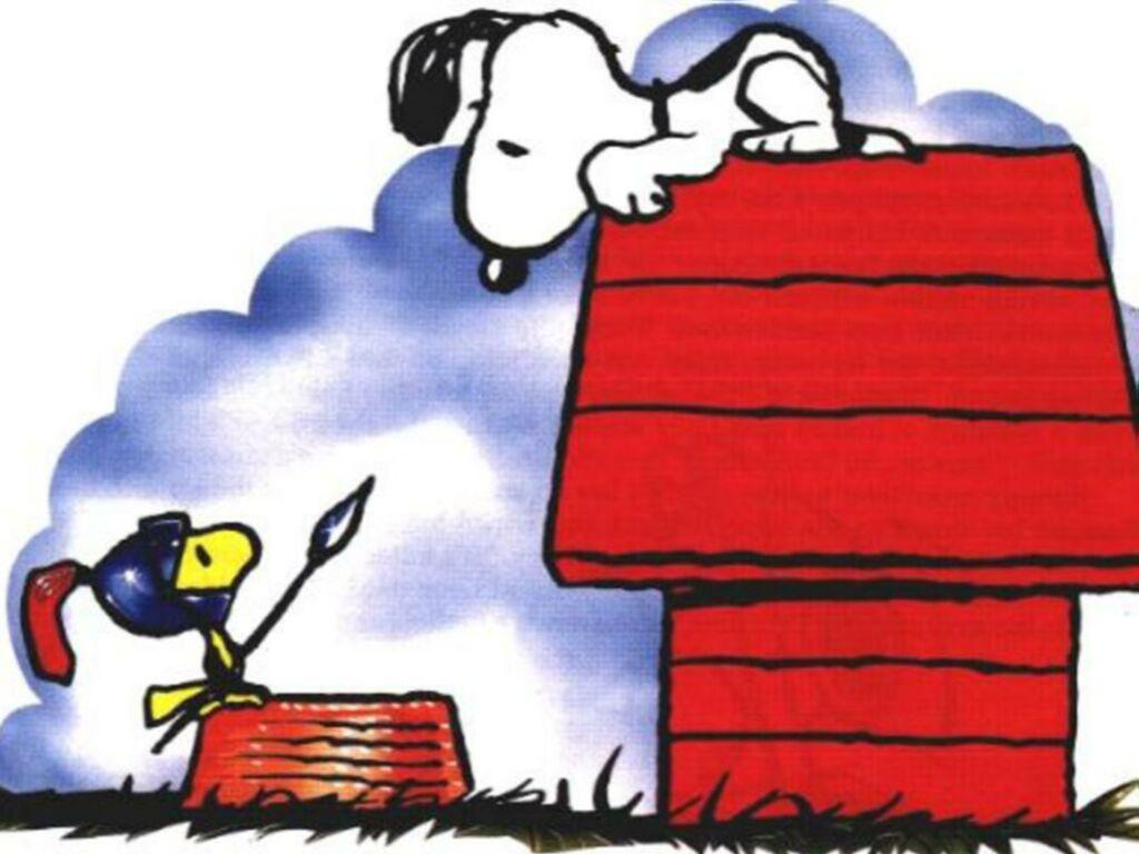 Wallpaper Background Snoopy Cute Image 1024x768