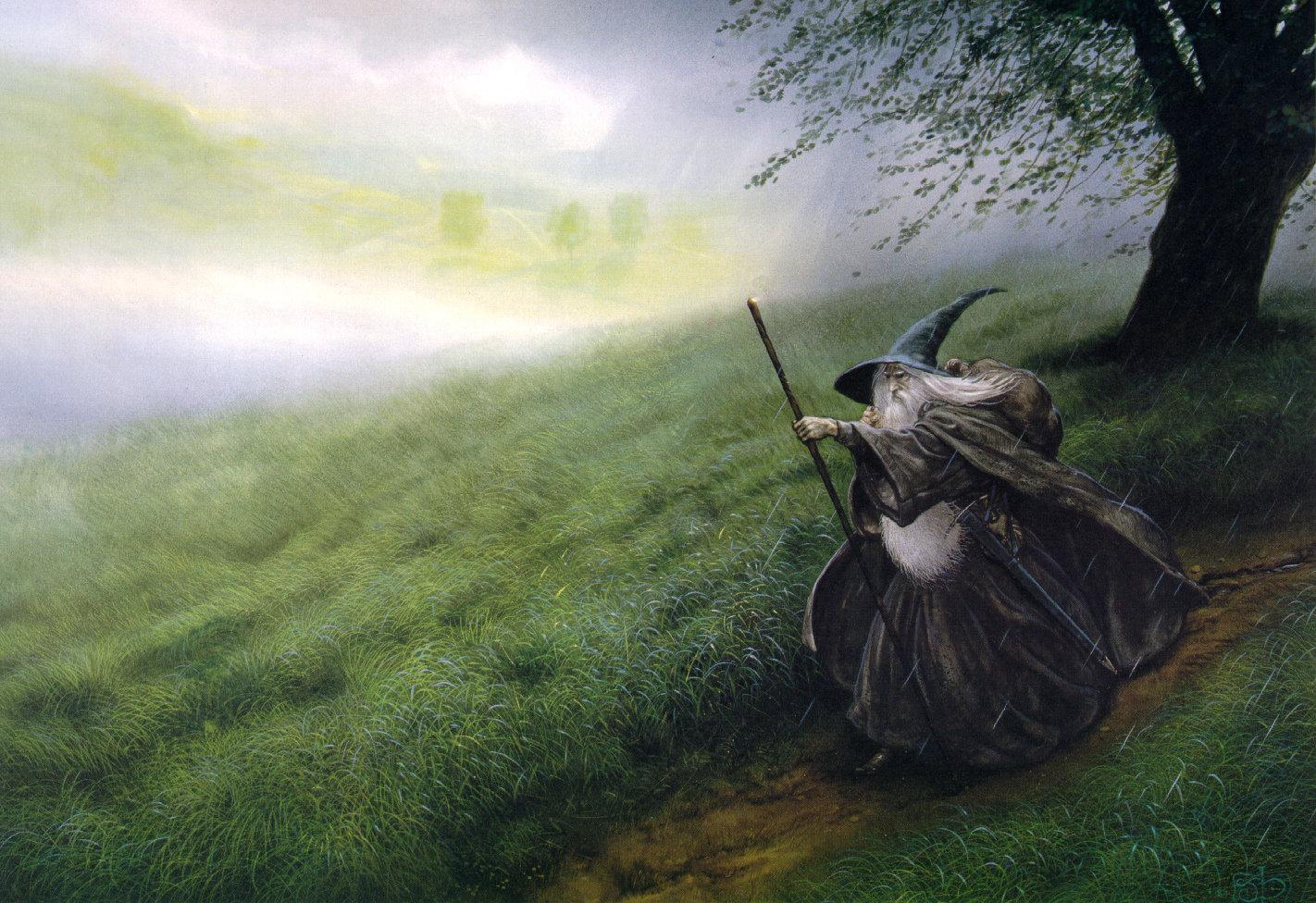 gandalf wallpaper lotr 1422x976