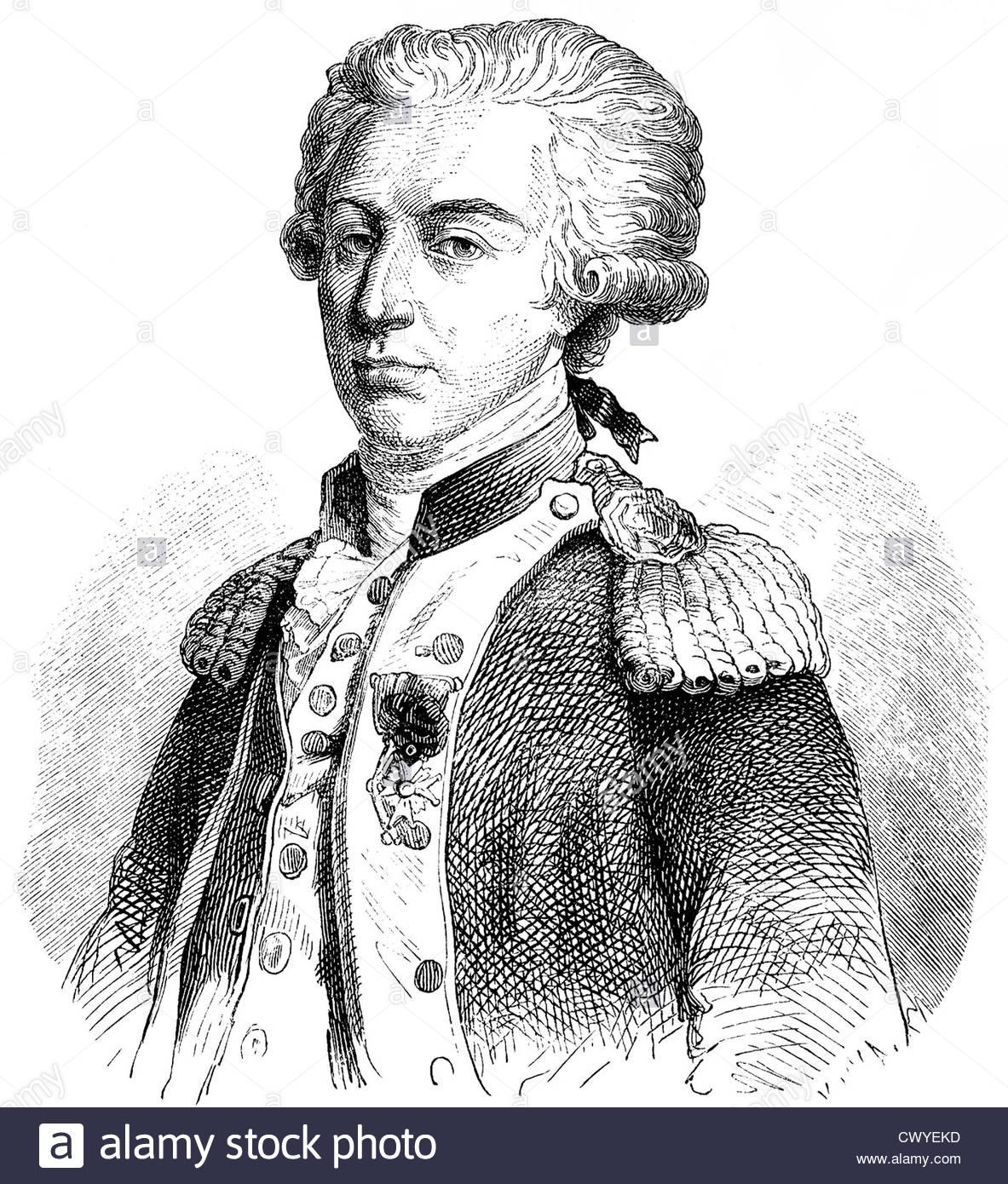 Marie Joseph Paul Yves Roch Gilbert du Motier Marquis de La 1183x1390