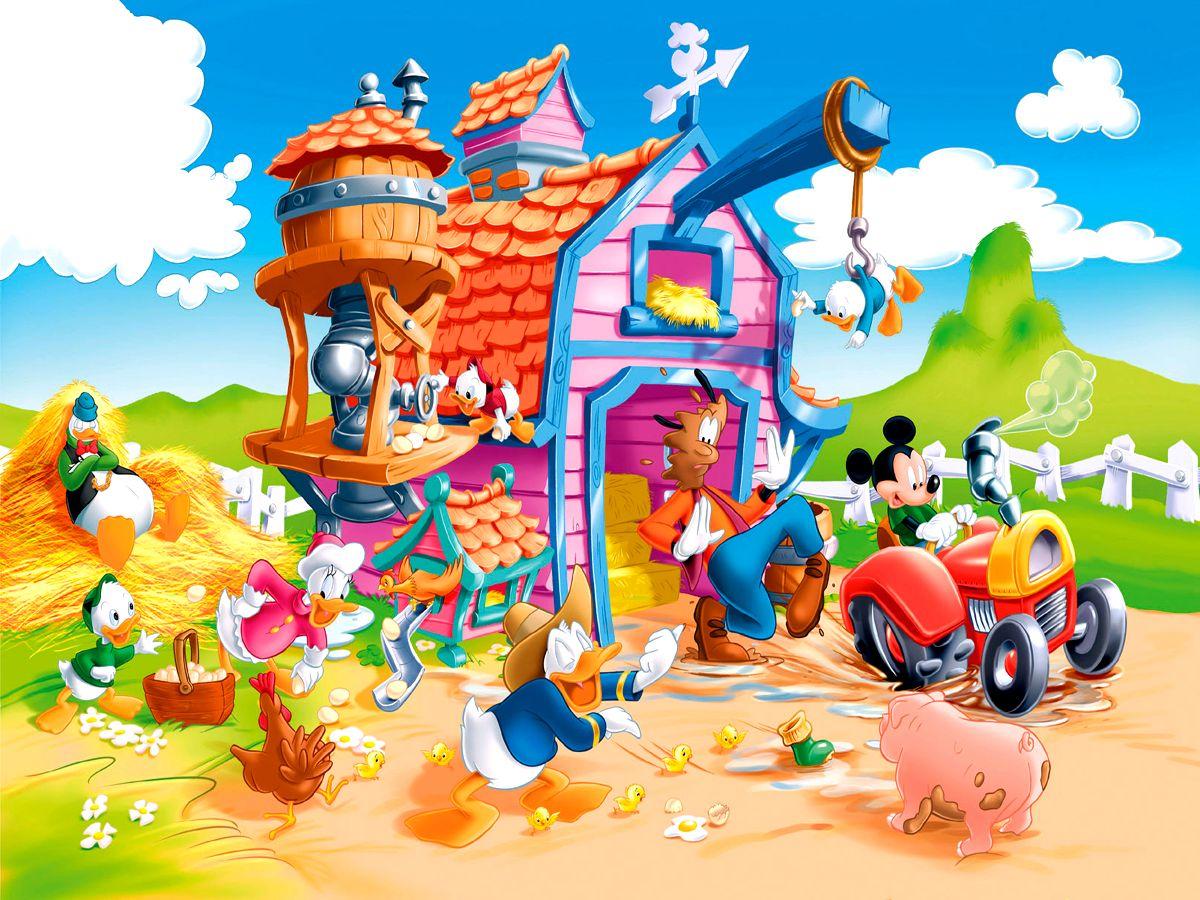 Free Disney Summer Wallpaper: Mickey Mouse Spring Wallpaper