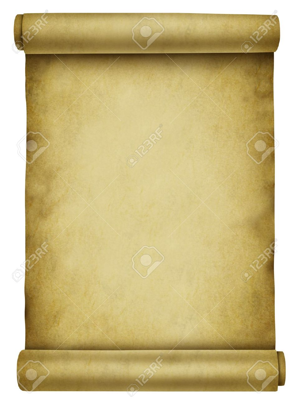 Blank Scroll On Ancient Parchment Paper Document Used For A 953x1300
